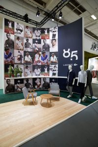 Lacoste - Tradeshow Wall Detail