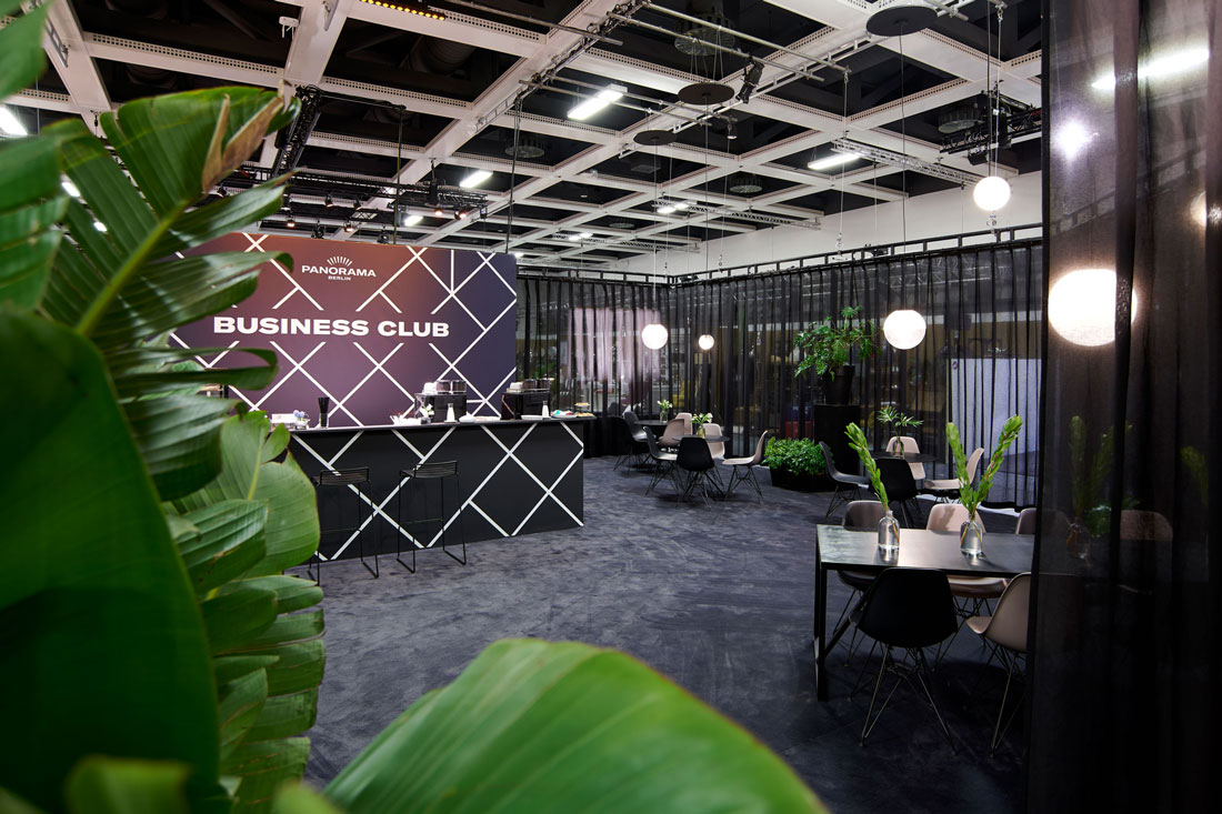 Businessclub - Panorama Messe Eingang